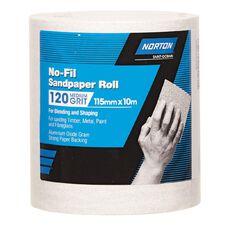 Norton Sandpaper Roll 115mm x 10m 120 Grit
