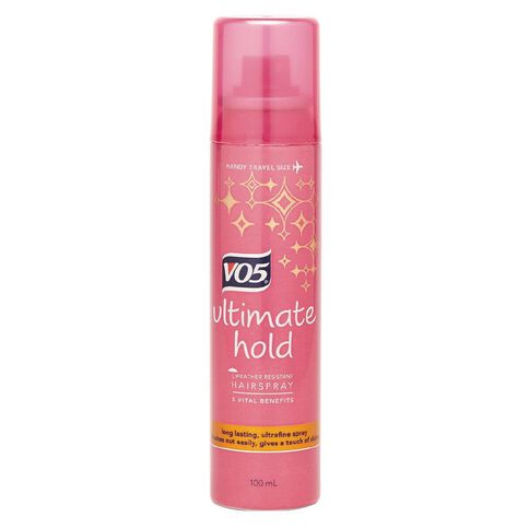 VO5 Ultimate Hold Hairspray 100ml