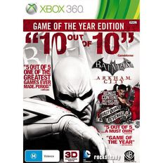 Xbox360 Batman Arkham City Game of the Year Edition
