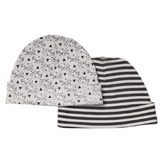 Hippo + Friends Baby All Over Print Beanie 2 Pack