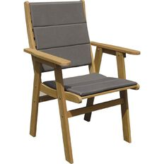 Reside Tasman Mid-Back Chair with seat pads