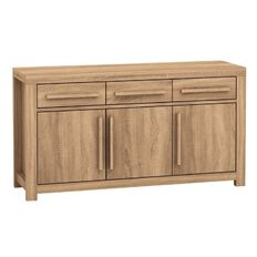 Solano Stockholm 3 Door 3 Drawer Buffet