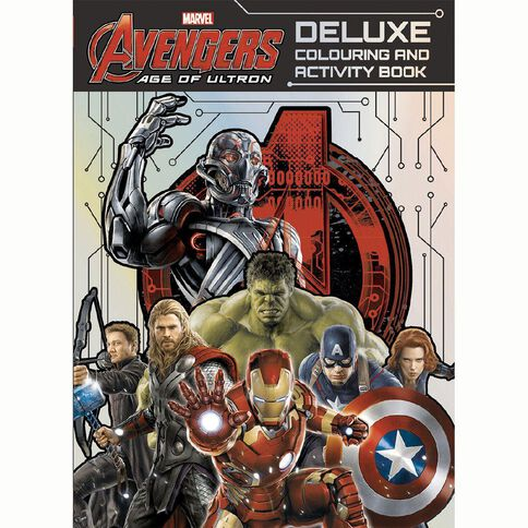 Marvel Avengers Age of Ultron Deluxe Colouring and Activity Book