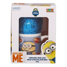 Minions Ceramic Mug with Easter Egg in Gift Box 60g