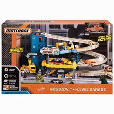 Matchbox Quad Level Garage Play Set