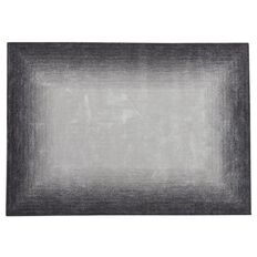 Habito Limited Edition Rug Square Ombre Charcoal 1.5m x 2.2m