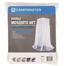 Campmaster Accessories Mosquito Double Net/Fine Mesh Polyester/Washable