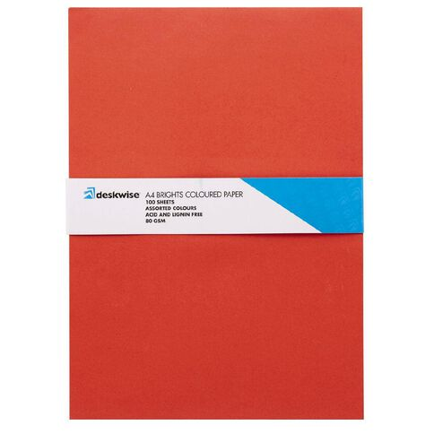 Deskwise Paper Bright A4 100 Sheets