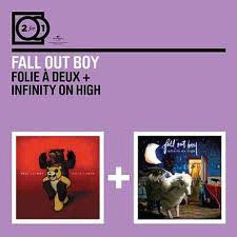 2in1 Follie a Deux/Infinity on High CD by Fall Out Boy 2Disc
