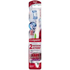 Colgate Toothbrush 360 Optic White Platinum Medium