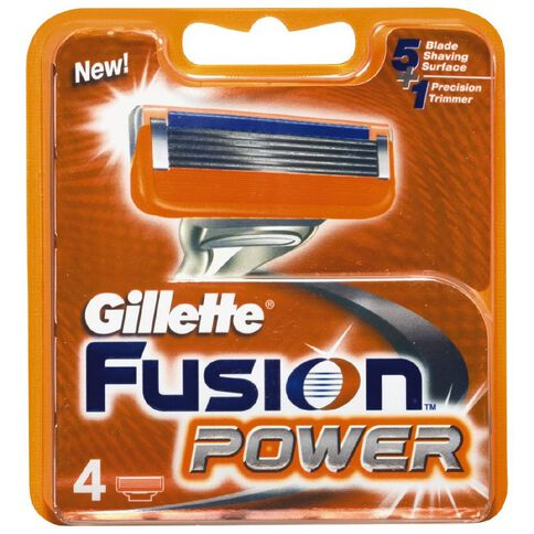Gillette Fusion Power Cart 4 Pack