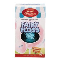 Waikato Valley Chocolates #6 Milk Chocolate Egg with Fairy Floss 85g
