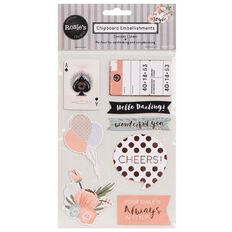 Rosie's Studio In Style Chipboard Embellishments