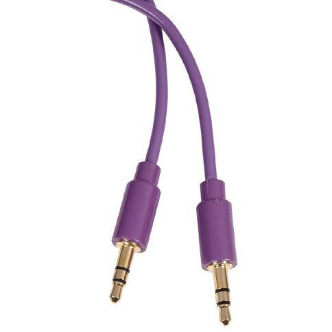 Tech.Inc Aux Cable 3.5mm-3.5mm 1.2m Purple