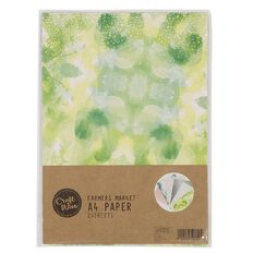 Craftwise Farmers Market Paper A4 24 Sheets