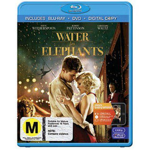 Water For Elephants Blu-ray 2Disc
