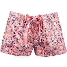 Basics Brand Women's Flannelette Sleep Shorts