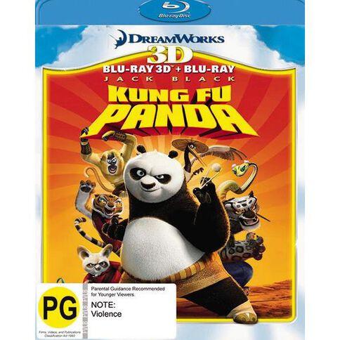Kung Fu Panda Blu-ray + 3D Blu-ray 2Disc