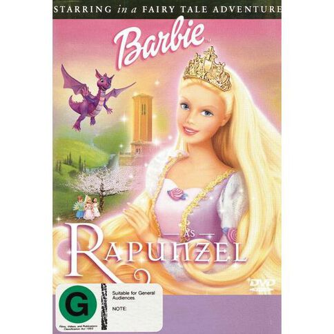 Barbie As Rapunzel DVD 1Disc