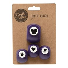 Craftwise Craft Punch 4 Piece