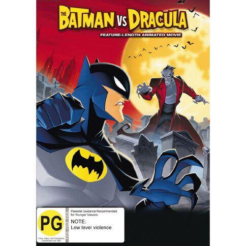 Batman VS Dracula DVD 1Disc