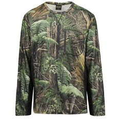 Back Country Men's Long Sleeve Cooldry Camo Tee