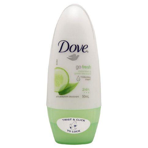 Dove Roll On Deodorant Go Fresh Cucumber 50ml