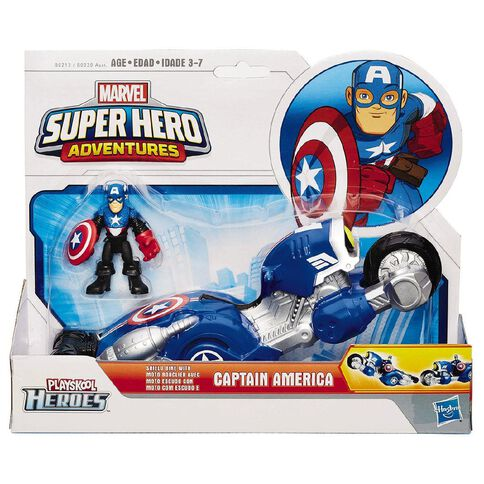 Playskool Marvel Super Hero Vehicle with Figure