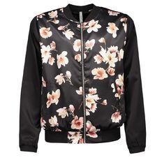 Maya Floral Bomber Jacket