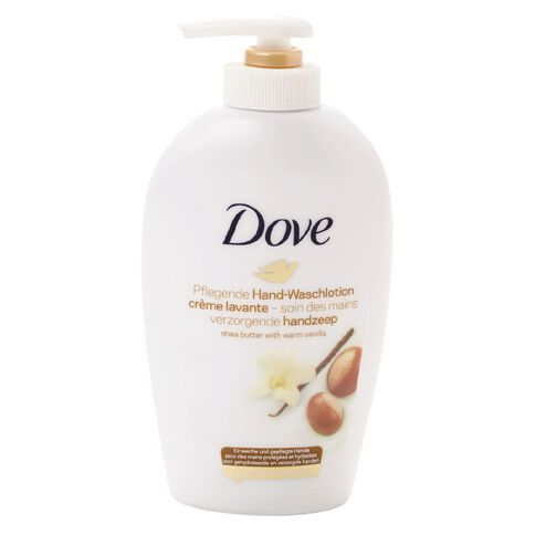 Dove Liquid Hand Wash Shea Butter 250ml