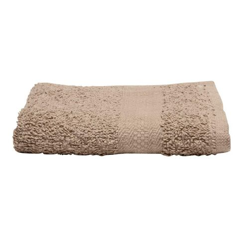 Necessities Brand Face Towel Taupe