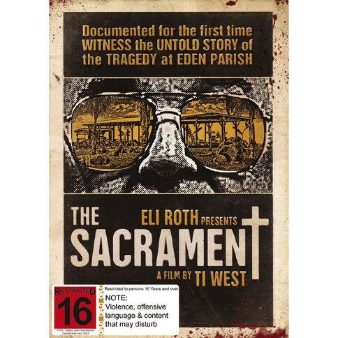Sacrament DVD 1Disc