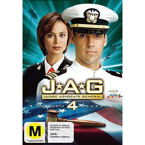 Jag Season 4 DVD 6Disc