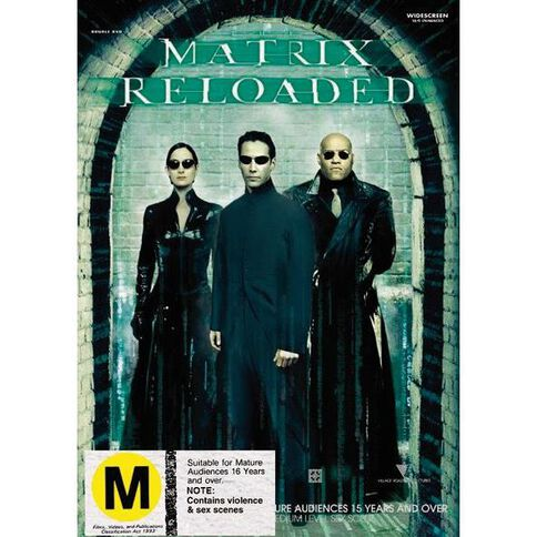 The Matrix Reloaded DVD 1Disc