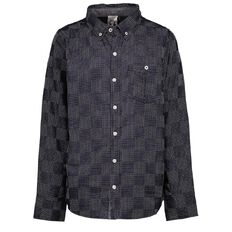 WZ Long Sleeve Yarn Dyed Shirt