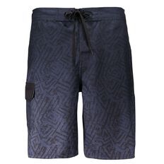 Beach Works Men's Ombre Printed Boardshorts