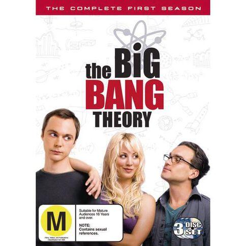 Big Bang Theory Season 1 DVD 3Disc