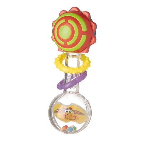 Squeek Twisting Barbell Rattle