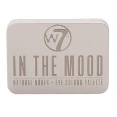 W7 In The Mood Natural Nudes Eyeshadow Palette 6 Colours