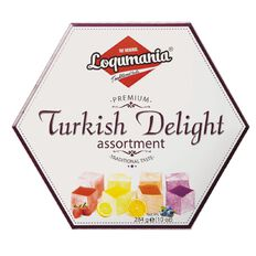 Loqumania Turkish Delight Assorted Fruits 284g