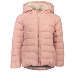 A'nD Sherpa Hood Puffer Jacket