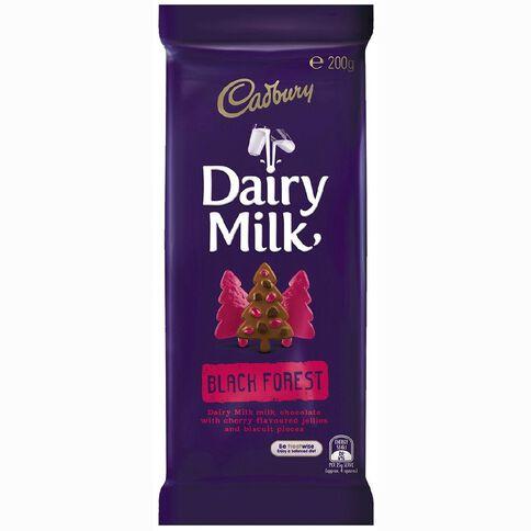 Cadbury Dairy Milk Black Forest 200g