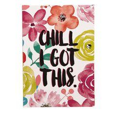 Paper Scissors Rock Notebook Hardcover Summer Flowers A5