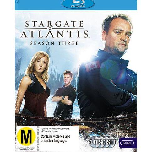 Stargate Atlantis S3 Blu-ray 4Disc