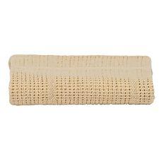 Babywise Cotton Cellular Blanket White