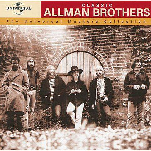 Masters Collection CD by The Allman Brothers 1Disc