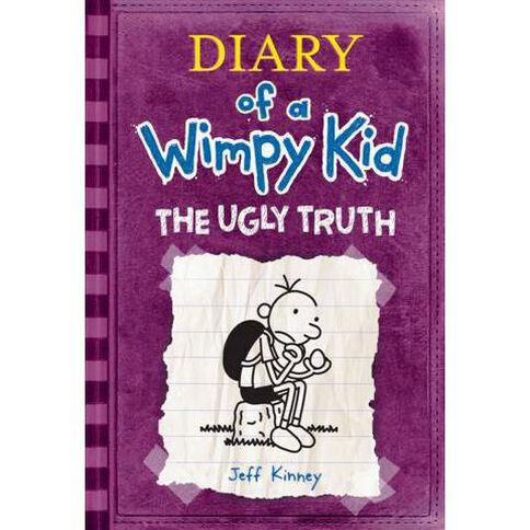 Diary of a Wimpy Kid #5 The Ugly Truth by Jeff Kinney