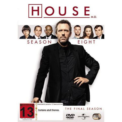 House Season 8 DVD 6Disc