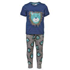 H&H Infants Boys' Short Sleeve Long Leg Knit Pyjamas