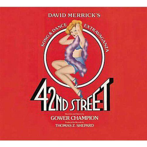 42nd Street CD by Original Soundtrack 1Disc